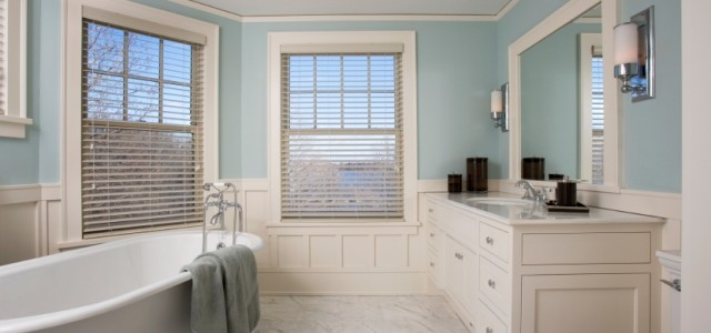 Foolproof bathroom color schemes Bathroom color palettes
